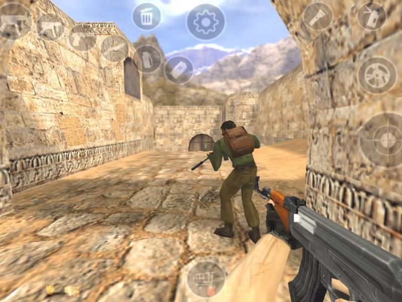 Game Counter Strike 1.6 Udah Bisa Dimainin di Android Canggih Kamu Lho