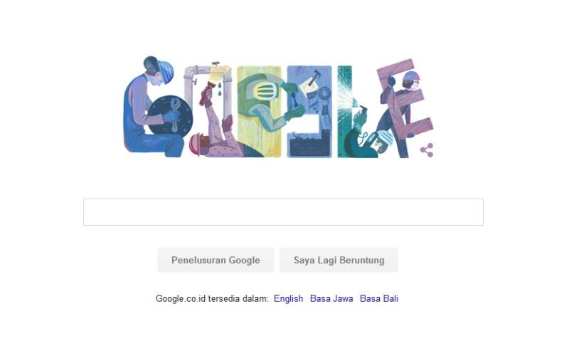 Google Doodle Hari Ini Meriahkan Hari Buruh 2016