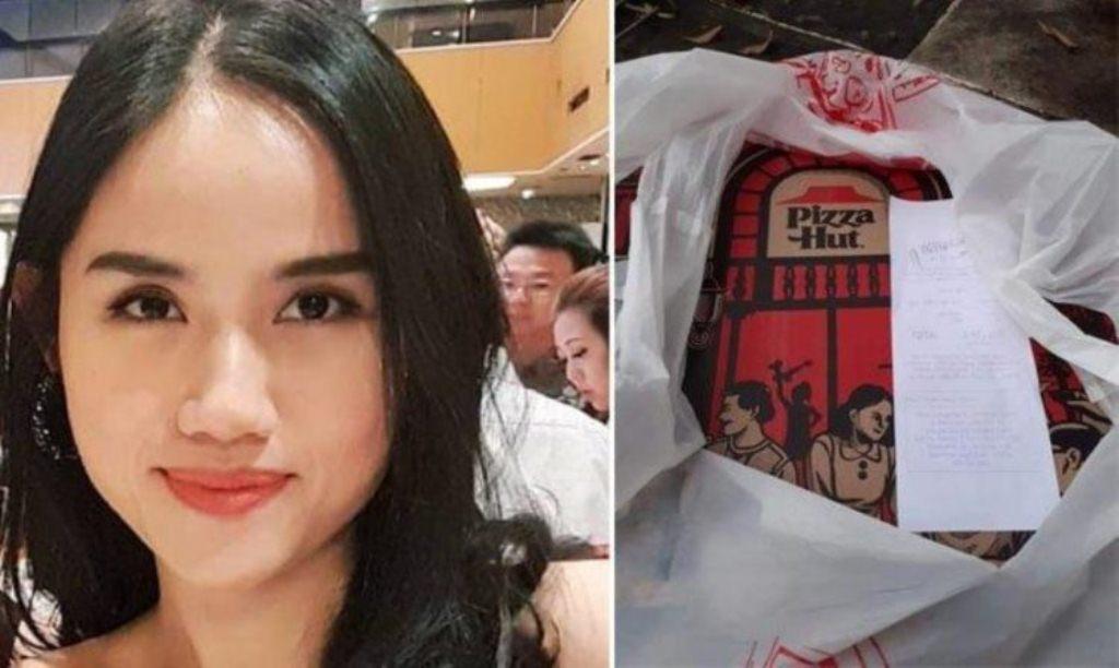 Viral, Agnes Claudia umat katolik yang order pizza untuk driver ojol berbuka puasa