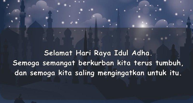 Gambar kata ucapan selamat Idul Adha